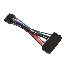 Cable Power-Extension-Cable for Acer Q87H3-AM 3pcs 24-Pin-To-12-Pin 24P 12P Cord Computer
