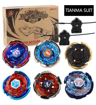 2020 Free Shipping 4D Beyblade Burst Metal Fusion(6pcs Beyblade 2pcs Launcher beyblade Original Package Box) as Children's Toys фото
