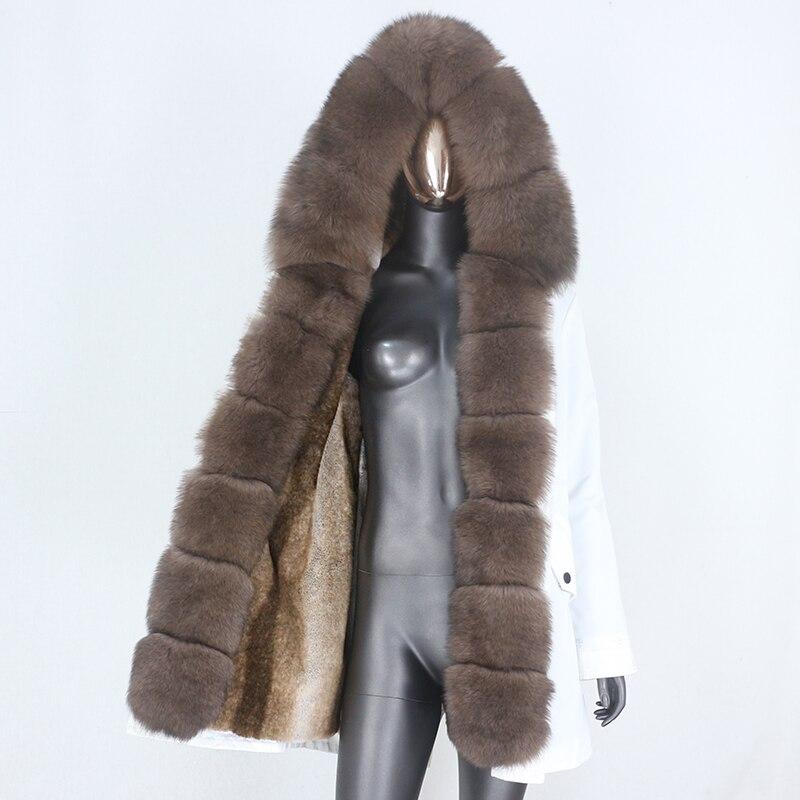 H1f87c28083de45f5a900d7615d9ca32fA CXFS 2021 New Long Waterproof Parka Winter Jacket Women Real Fur Coat Natural Raccoon Fur Hood Thick Warm Streetwear Removable
