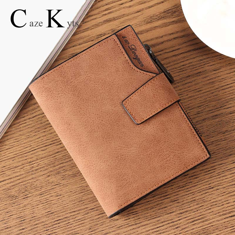 New Ladies Short Wallet Women's Fashion Simple Fresh Wallet Large Capacity Cowhide Material Coin Purse Multi-function Wallet