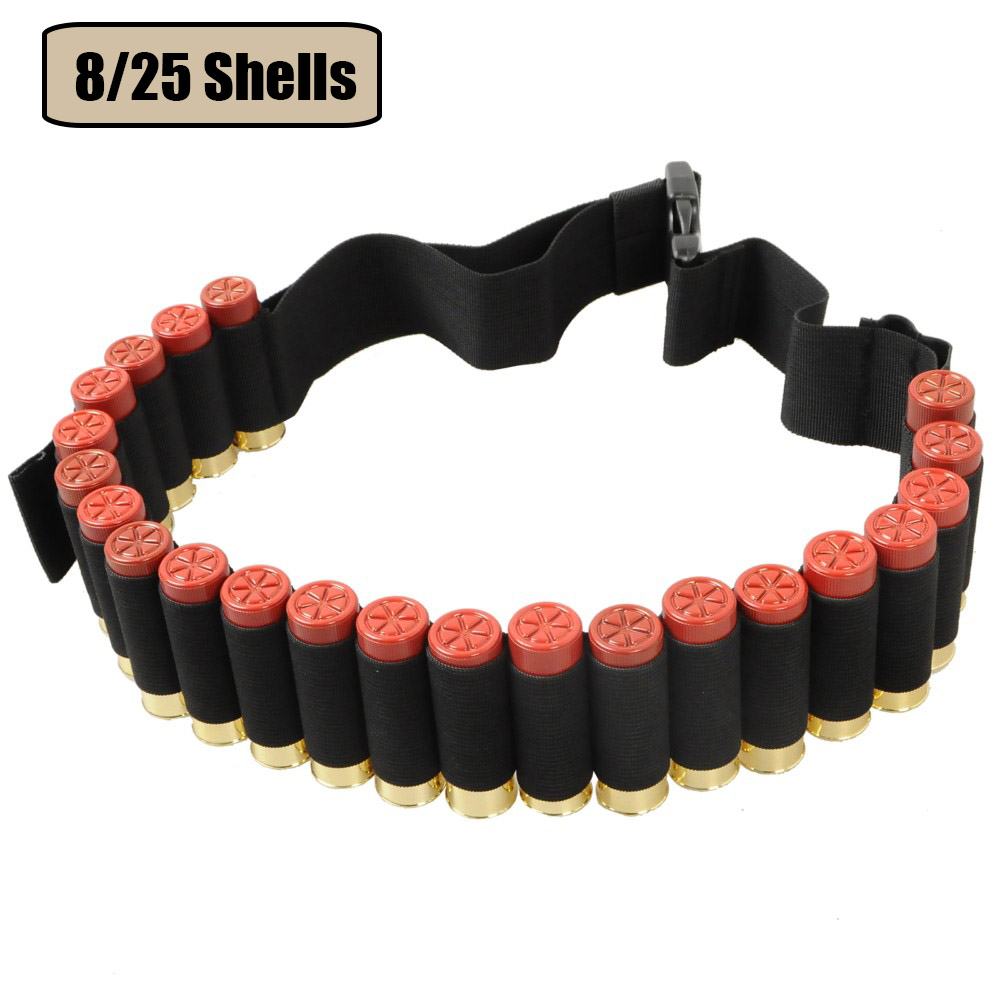 12GA Ammo Holder Gun Shell Bandoliers Belt 55