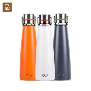 Image 1 - Youpin KKF Portable Thermo Cup 475ML Travel Mug 24 Hours Flask Water Stainless Steel Outdoor Sports Cup Vacuum