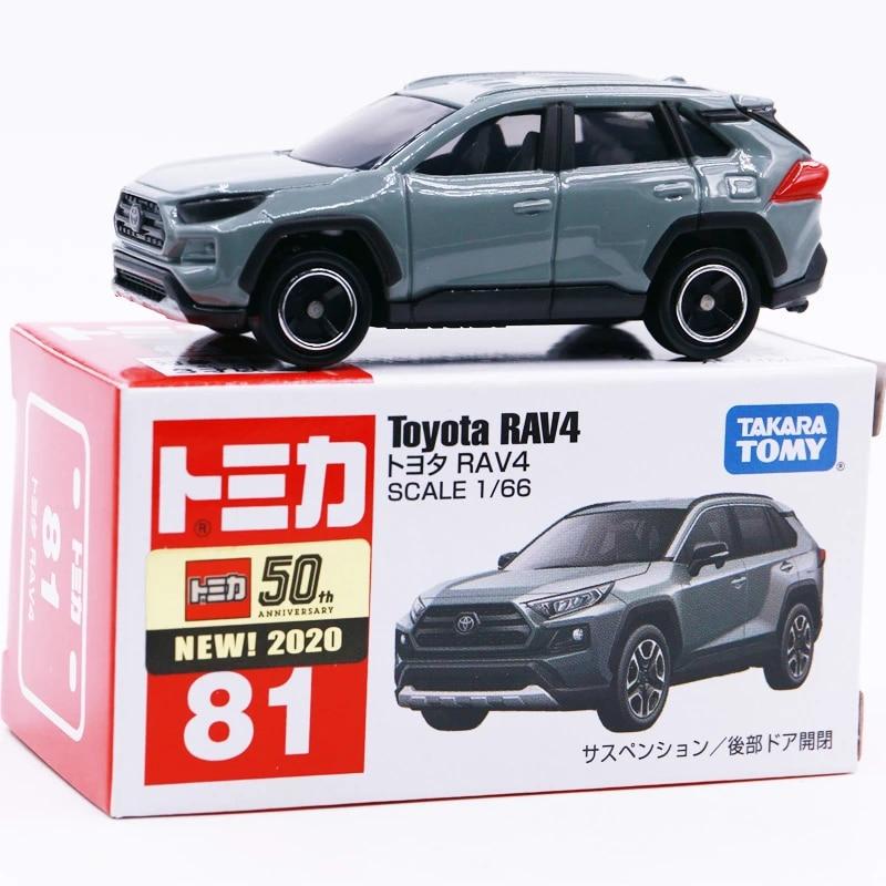 Takara Tomy Toyota RAV4 No.81 SCALE 1//66 from Japan BLAND NEW