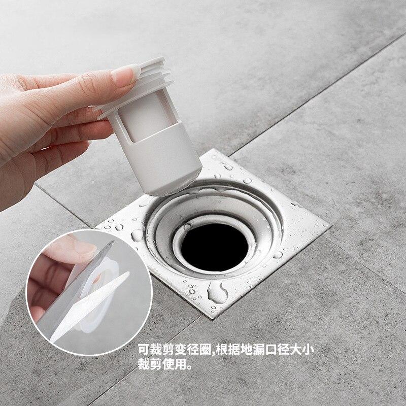 Bathroom Sewer Deodorant Floor Drain Cover Kitchen Round Anti-Clogging Filter Bathroom Deodorant Cover Drainage Cover Filter