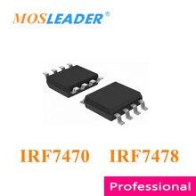 Mosleader IRF7470 IRF7478 SOP8 100 sztuk 1000 sztuk IRF7470TRPBF IRF7470PBF IRF7470TR IRF7478TRPBF IRF7478PBF IRF7478TR chińskie towary