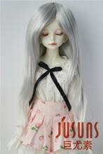 Jd157 1/6 perucas sintéticas da boneca de mohair longa natureza reta bjd cabelo yosd 6 7 polegada boneca acessórios