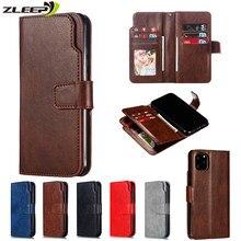 Luxe Lederen Flip Portemonnee Voor Iphone 12 Mini 11 Pro Max Case Voor Iphone X Xs Max Xr 5 S se 6 6S 8 7 Plus Card Telefoon Cover Coque
