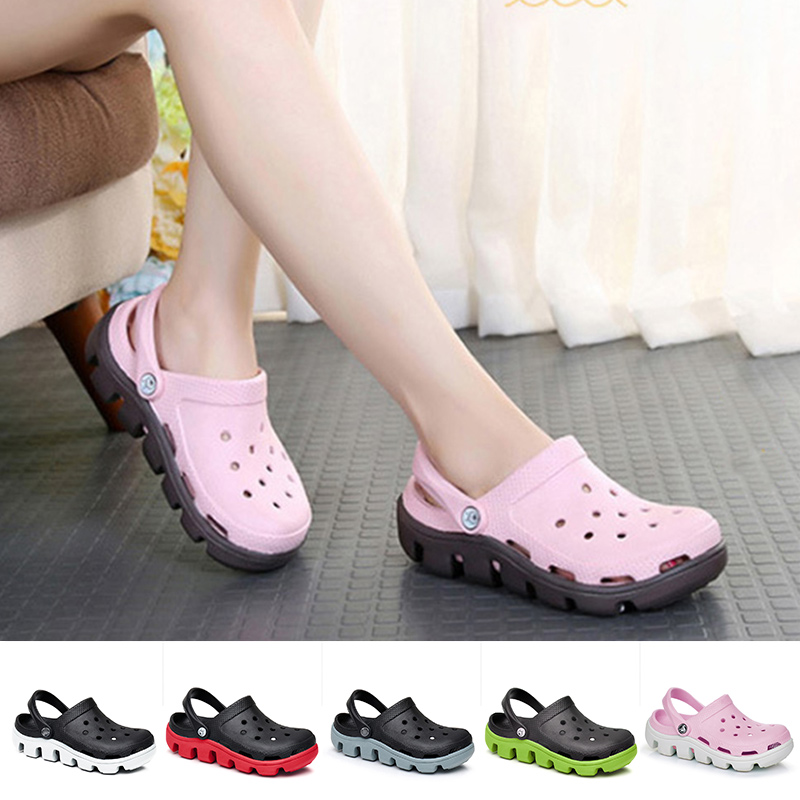 2020 New Garden Shoes Woman Beach Sandals Colorful Slippers Summer Ladies Outdoor Casual Slip On Fisherman Shoe Female Plus Size