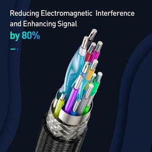 Image 5 - Baseus Cable adaptador HDMI 2,0 a HDMI, 4K, 60HZ, HD, 3D, para PS4, Xbox, proyector, HD, LCD, Apple TV, PC, portátil, ordenador