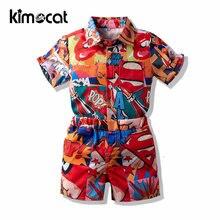 Kimocat/Модный комплект из 2 предметов для маленьких мальчиков