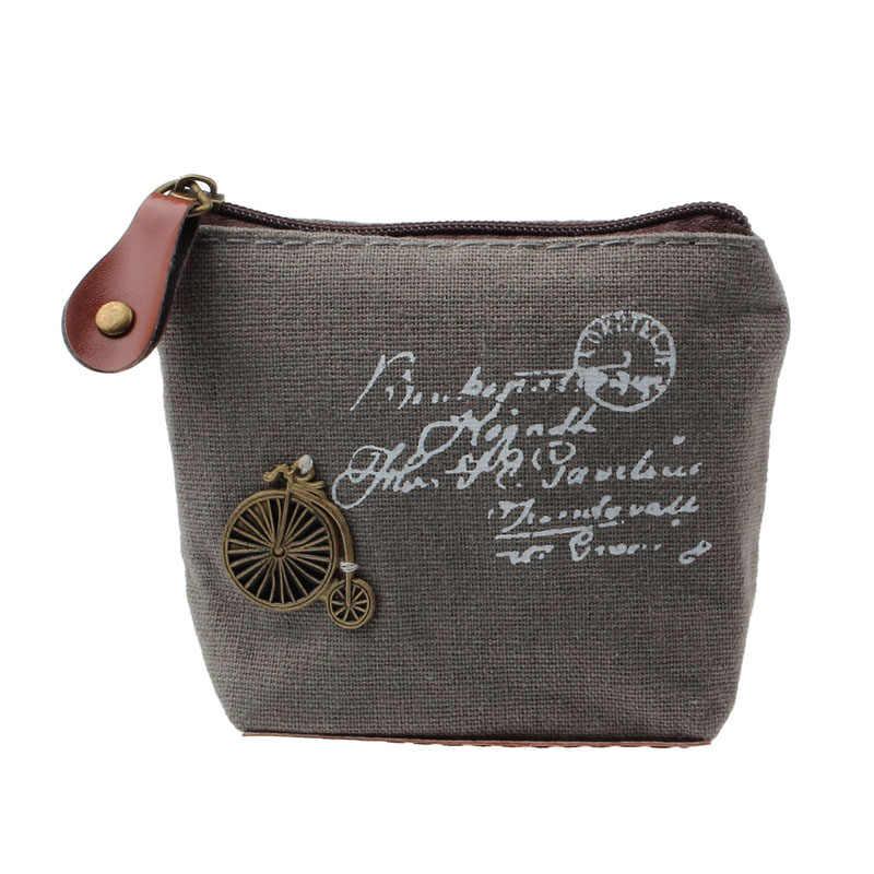 Women Retro Coin Purses Lady Girls Gift Zipper Wallets Key Bag Female Coin Bag Purse Wallet Card Case Handbag cute wallet #912