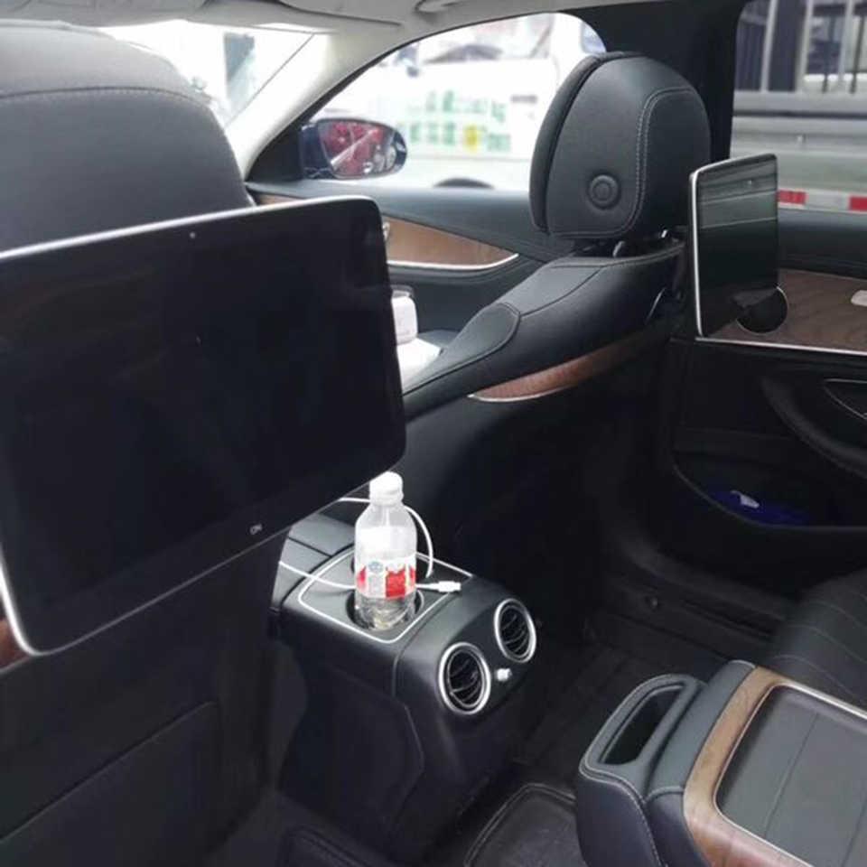 プラグアンドプレイのインストール 3 秒車画面アンドロイド 9.0 ヘッドレスト用メルセデスベンツ後部座席エンターテイメントシステム
