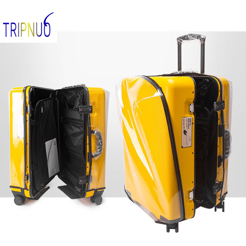 PVC Transparent Disassembly Trolley Case Luggage Cover Travel Suitcase Protect Cover Dustproof Waterproof Travel Accessories