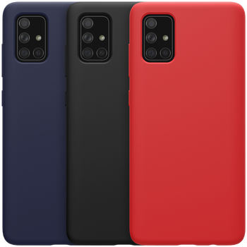Cover For Samsung Galaxy a71 a51 Case NILLKIN Flex Pure Silicone Shockproof Protective Back Cover For Galaxy a71 Case фото