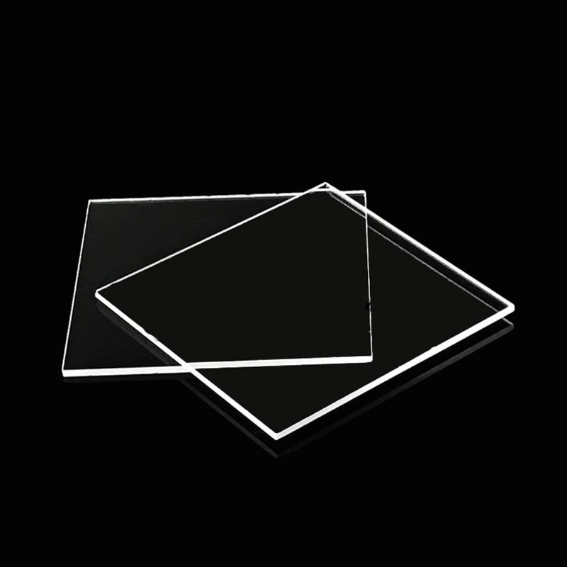 Quartz Glass Square Piece 40*40*0.2/1/3mm Spot Jgs1 Far Ultraviolet Optical Window Mirror Piece