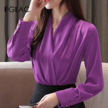 New 2019 Autumn long sleeve women blouse shirt