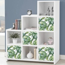 Banana Leaf Sticker Self - adhesive Bedroom Waterproof Cabinet to Receive Paste Furniture Renovation Stickers Hot Sale