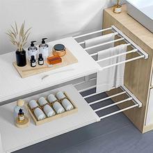 Closets Shelf Divider Adjustable Storage Rack Shelf Organizer for Home Bedroom