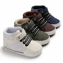 Baby Boy Shoes New Classic Canvas Sneakers Newborn Baby