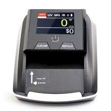 Портативный маленький детектор банкнот счетчик деноминации счетчик фальшивых денег детектор банкнот машина для проверки банкнот ЕС вилка