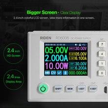 RD6006 RD6006W USB WI-FI DC-DC Напряжение текущий понижающий Питание понижающий Напряжение конвертер Вольтметр 60V 5A