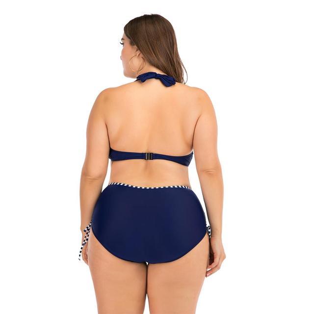 Womens Swimsuit 4xl Swimwear Women Plus Size Women's Two-piece Swimsuit Bikinis 2020 Woman Swimsuit Female Separate Large Size 2
