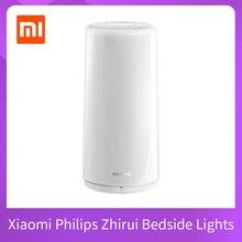 Xiaomi Mijia Philips Zhirui Bedside Lights Smart LED Table Lamps Indoor USB Charging Night Light Bedroom Desk Light APP Control