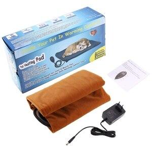 Image 2 - 애완 동물 전기 담요 난방 패드 12 v 저전압 난방 패드 개 패드 고양이 패드 eu 플러그