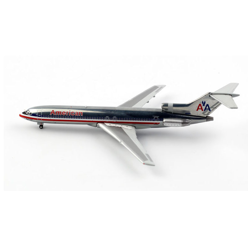 <font><b>1</b></font>/400 Scale B727-<font><b>200</b></font> American Airline Plane <font><b>Model</b></font> Alloy Lading Gear Aircraft collectible display <font><b>Airplanes</b></font> <font><b>model</b></font> decoration image