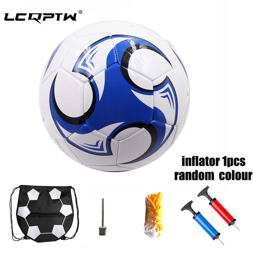 2019 Professional Match Football Official Size 5 Soccer Ball PU Futbol Bola+Football Solo Belt/Football Bags/Pump For Adult