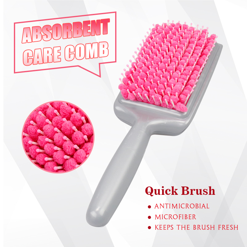 Best Magic Quick Drying Comb Micro Fiber Dry Hair Brushes Absorbent Care Combs Radiation Protection Pregnant Women Necessary