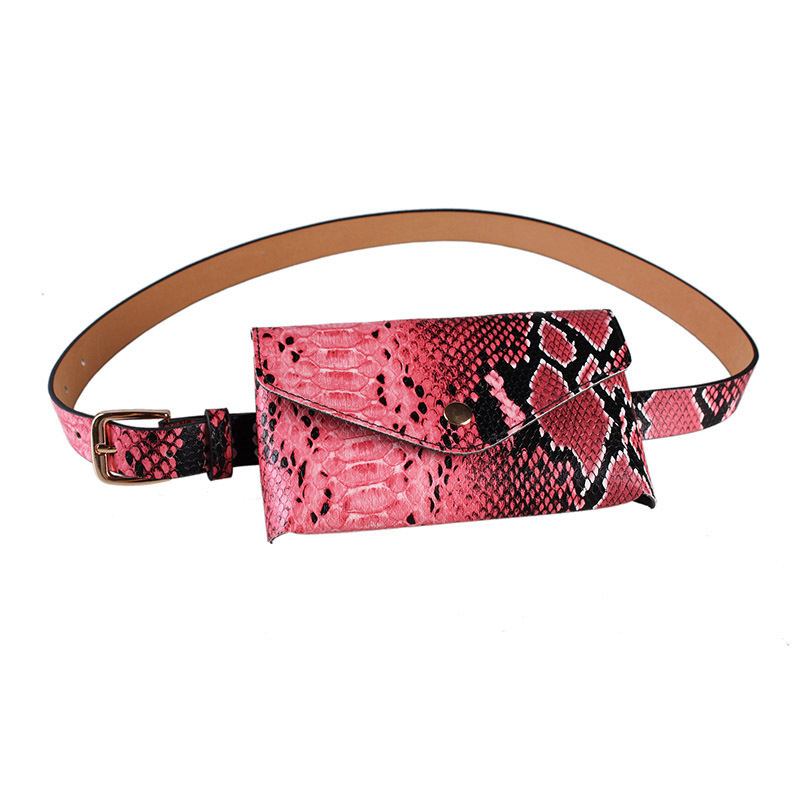 2020 Spring Stylish Vintage Belt Bag Female New Design Trendy Serpentine Waist Bag All-match Casual Fashion Bags For Women ZK512