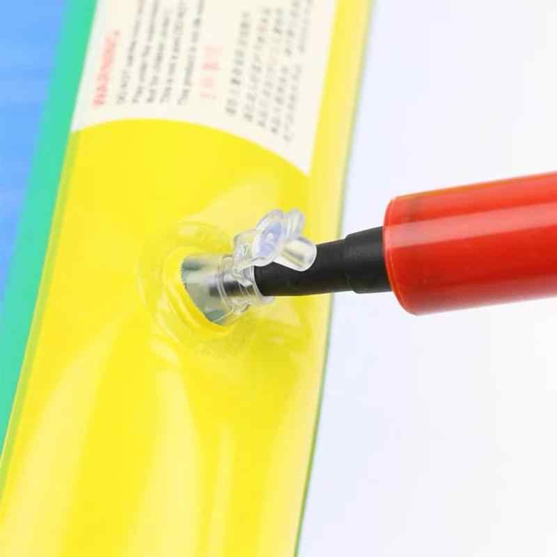 1 قطعة مضخة صغيرة المحمولة نافخة صغيرة دفع نافخة صغيرة دليل بالون الهواء بوم المحمولة مفيدة احباط بالون أدوات الديكور
