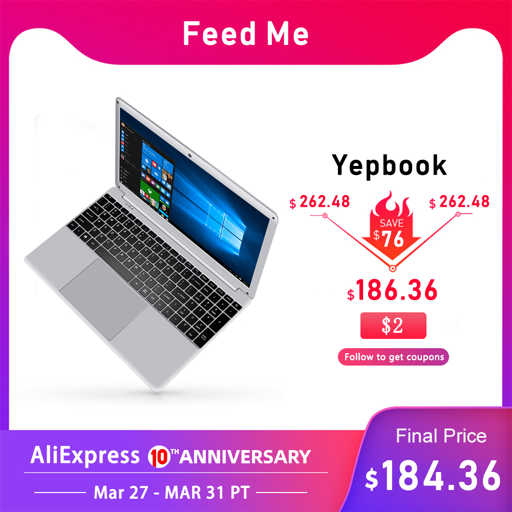 15.6 Inch 1080P Laptop Intel E8000 Quad Core 4GB RAM 64GB 128GB 256GB SSD Notebook With Full Layout Keyboard