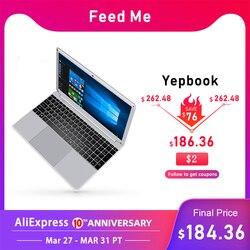15.6 inç 1080P dizüstü Intel E8000 dört çekirdekli 4GB RAM 64GB 128GB 256GB SSD dizüstü tam düzeni klavye