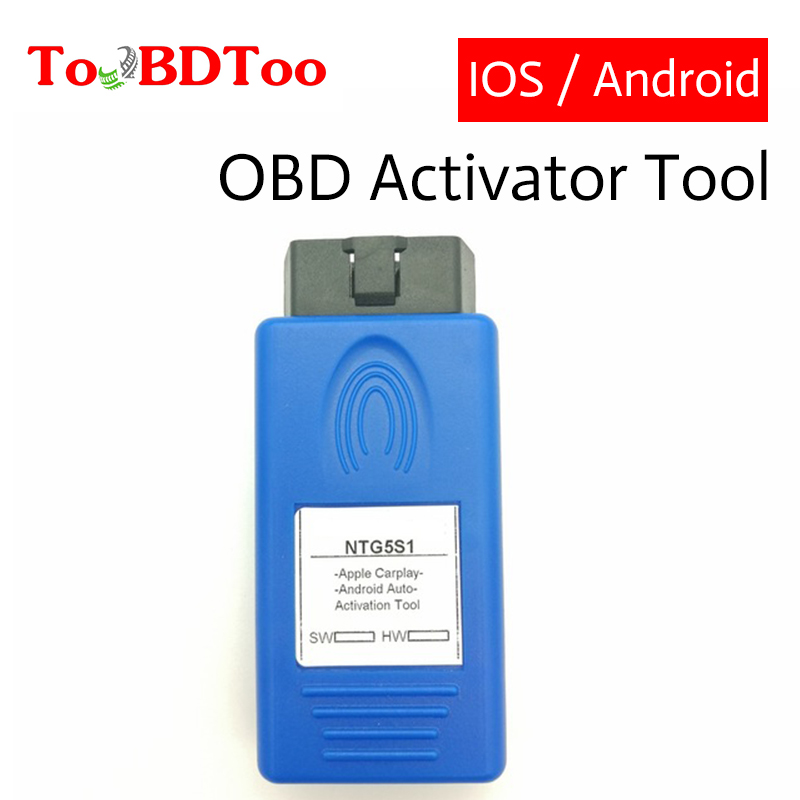 NTG5s1 NTG5 S1 Carplay&Android Auto OBD Activator Tool Car Activation Tool Safer Way To Use Your IPhone For Iph0ne5/6/7