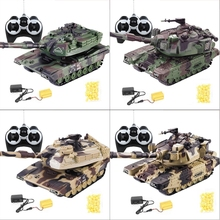1:32 Military War RC Battle Tank Heavy Large Interactive Remote Control Toy Car