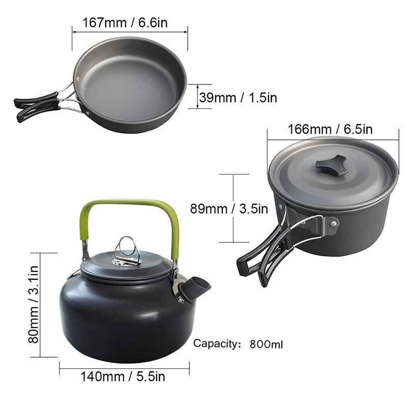 Outdoor Cookware Set