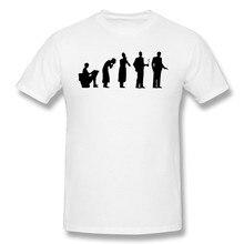 Evolução casual t shirt roupas masculinas venda quente hitman camiseta 100% algodão o pescoço t-shirts novo design magro ajuste superior