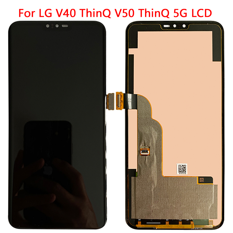For <font><b>LG</b></font> V40 <font><b>V50</b></font> LCD Display Touch Screen With Frame Digitizer Assembly For <font><b>LG</b></font> V40 <font><b>ThinQ</b></font> <font><b>LG</b></font> <font><b>V50</b></font> <font><b>ThinQ</b></font> 5G LCD Replacement parts image