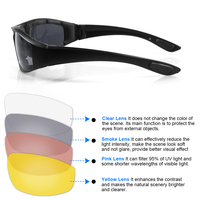 outdoor sports Outdoor Sports Cycling Glasses Safety Eye Protection Anti-glare Waterproof Biker Motocross Motorbike Motorcycle Moto Riding (2)