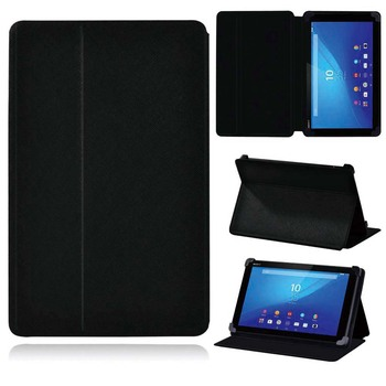 Tablet Case for Sony Xperia Z3 Tablet Compact 8.0/Z4 Tablet 10.1 Drop Resistance Leather Tablet Protective Shell+Free Stylus image