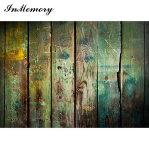 Image 5 - InMemory Wooden Board Photocall Plank Texture Food Portrait Grunge Customized Photography Backdrops For Photo Studio