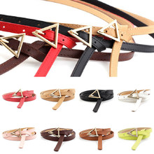 110cm Triangle Girdle Waistband All-match Trend Belt For Dress Skirt Clothes Decoration Knotted Thin Waist Belts Female Belts