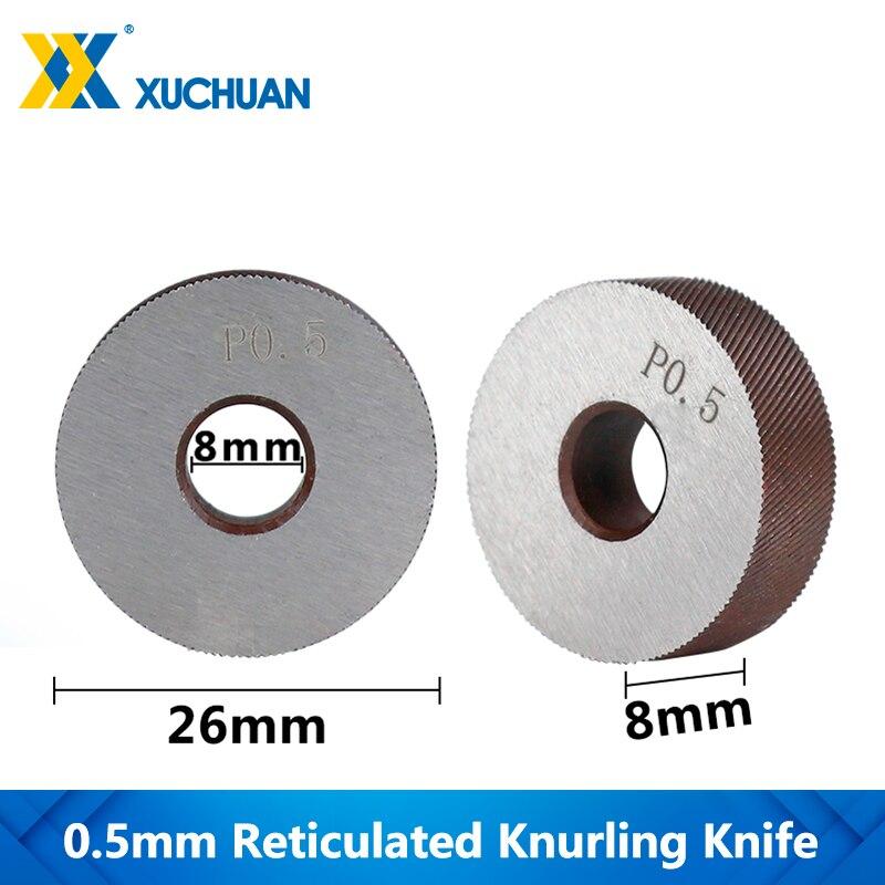 0.5mm Reticulated Knurling Knife Knurling Wheel Inner Hole Embossing Wheel Gear Shaper Cutter Lathe Reticulated Knurling Wheel