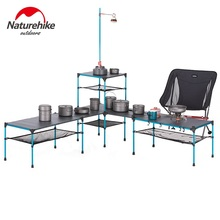 Naturehike Free Splicing Folding Table Portable Outdoor Camping Picnic Changeable Table Ultralight Aluminium Alloy Desk