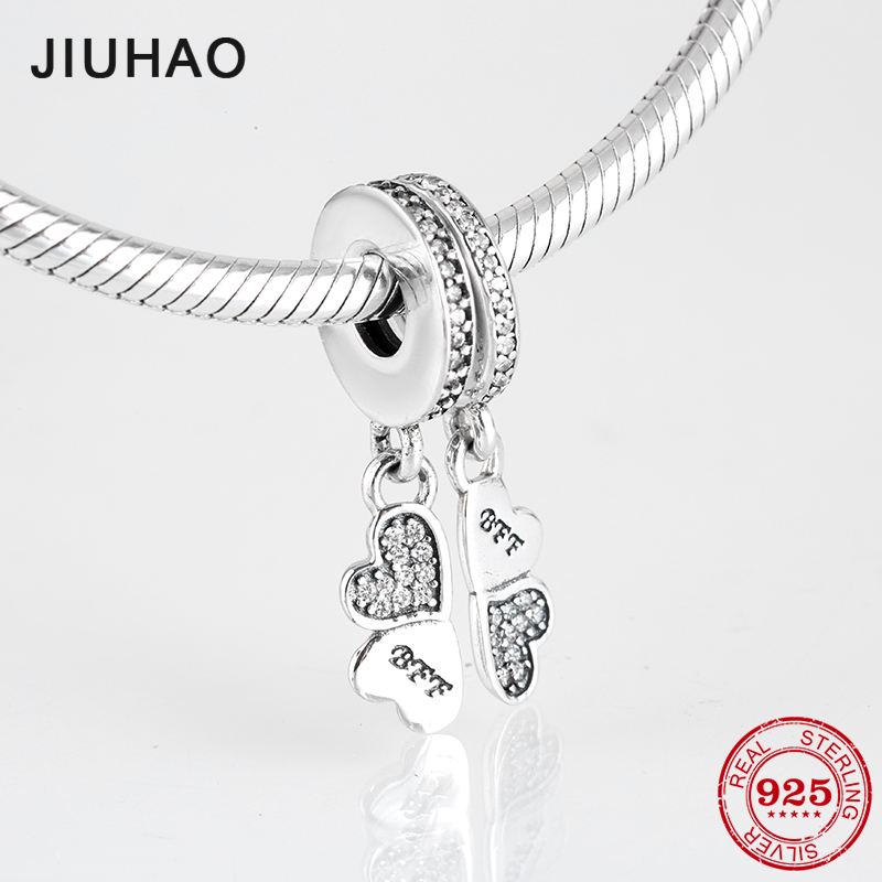 Pendants Charm Bff 925 Sterling Silver
