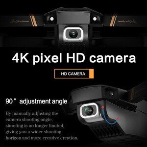 Image 2 - V4 Rc الطائرة بدون طيار 4k HD زاوية واسعة كاميرا 1080P واي فاي طائرة بدون طيار fpv كاميرا مزدوجة كوادكوبتر في الوقت الحقيقي نقل ألعاب هليكوبتر