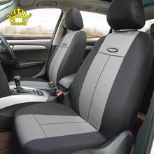 Evrensel araba koltuğu kaplaması çoğu otomobil Fit kapakları gri polyester otomotiv iç oto klozet kapağı s ön ve arka yumuşak koltuk örtüsü