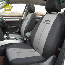 Universal car seat cover Fit Most Cars Covers Gray polyester Automotive interior auto seat covers Front and rear soft seat cover